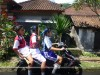 Niños que vuelven de la escuela