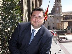foto: Daniel Pérez José Atares. Alcalde de Zaragoza